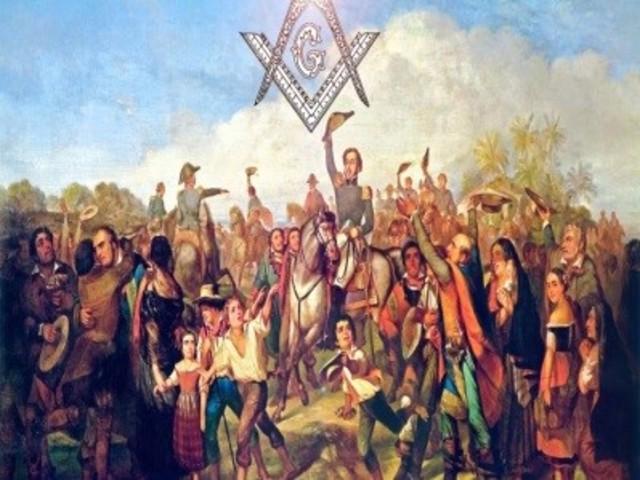 Los habitantes del pueblo de San Diego, cerca de Veracruz, se sublevan siguiendo la proclama de Guadalupe Victoria.