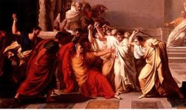 Asesinato de Julio César.