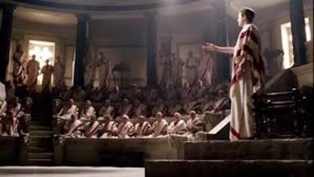 Octavio recibe del Senado