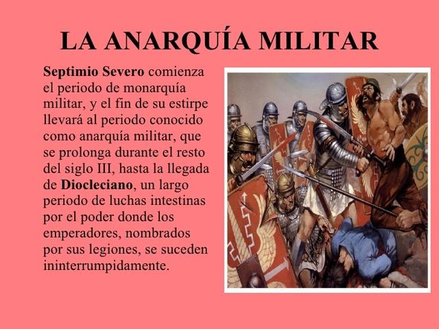 """Período de """"Anarquía Militar"""""""