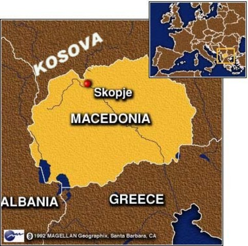 Name is reviewed only to Macedonia