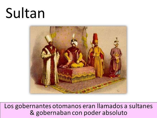 Poder de los otomanos