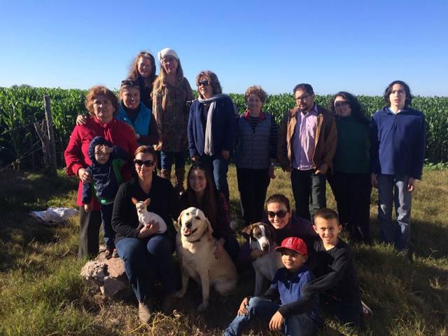 Reunión familia Armenta