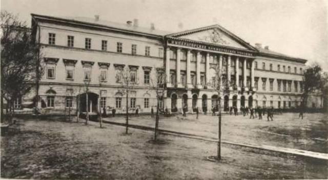 Поступление в Московское коммерческое училище