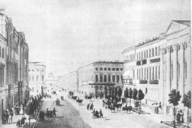Отъезд в Петербург