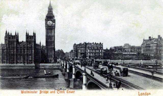 Посещение Лондона