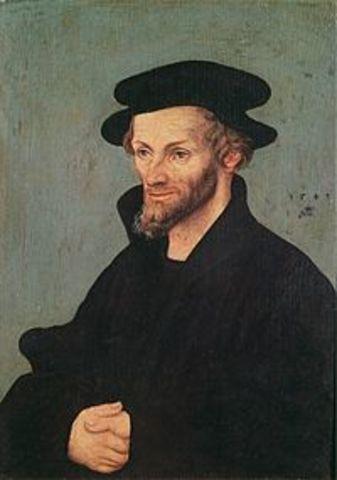 Felipe Melanchton (Bretten, 1497 - Wittenberg, 1560)