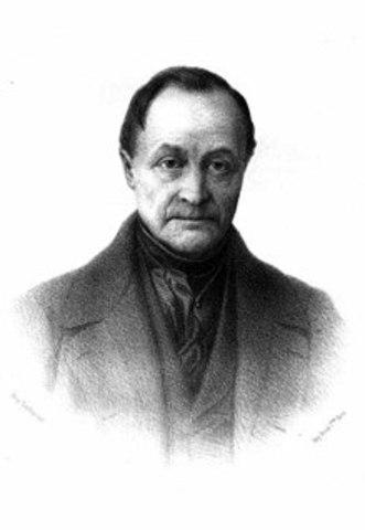 Auguste Comte (Montpellier, 1798 – París,1857)