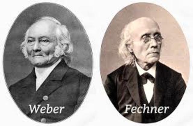 Ernest Weber y Gustav Fechner