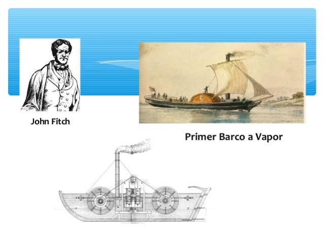 Primer prototipo del barco de vapor