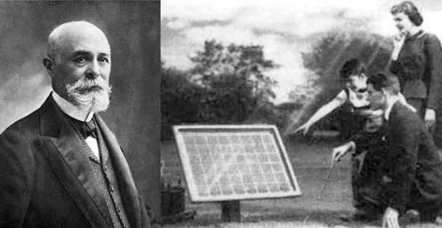 Se crea la primer celda solar.