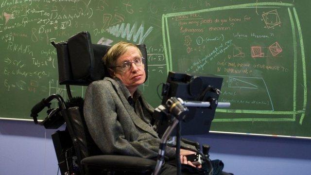 Stephen Hawking. Singularidades espaciotemporales.