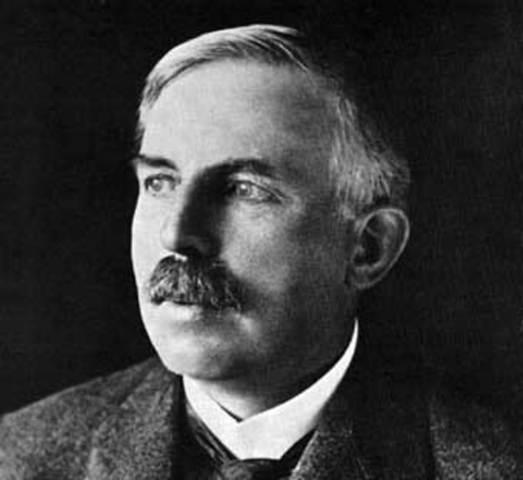 Ernest Rutherford y la estructura atómica