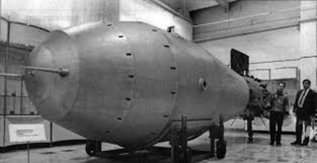 Primera explosión nuclear experimental