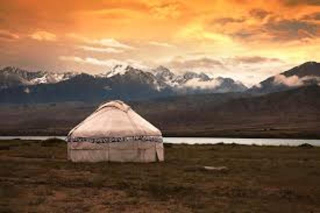 Переезд  в Киргизию.