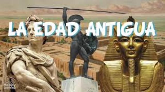 EDAD ANTIGUA (3 500 a.C. - 476 d.C)