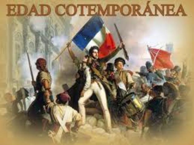 EDAD CONTEMPORÁNEA (1789)