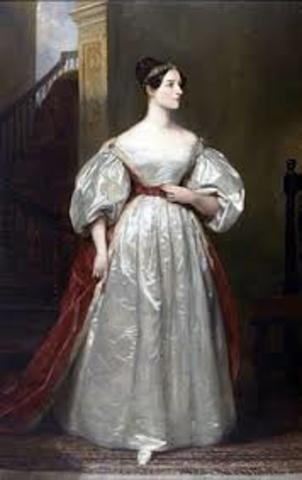 Ада Лавлейс  (1815 г.- 1852 г.)