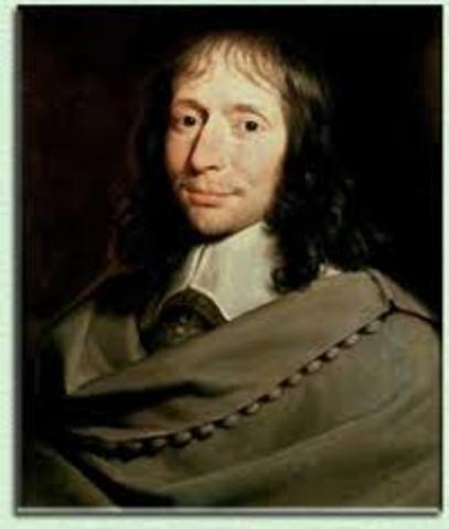 Блез Паскаль( 1623 г.- 1662 г.)
