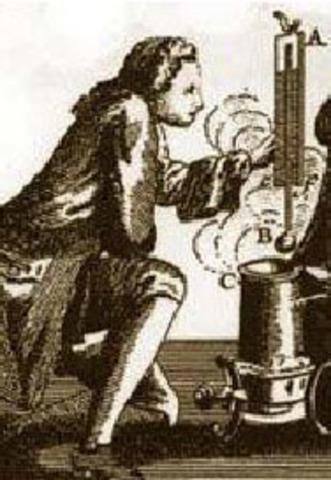 Termómetro de Mercurio (1714)