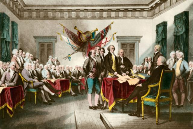 La début de la Révolution Américaine