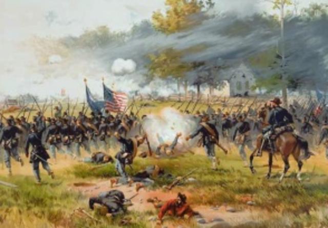 La guerre de Sécession