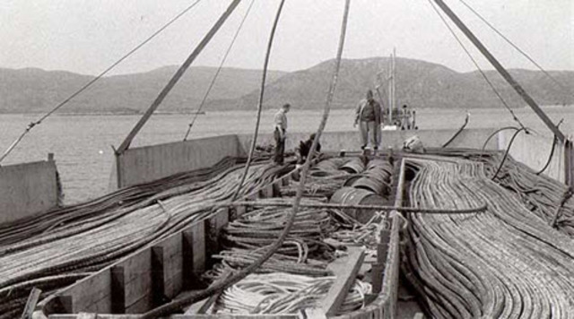 First Telecommunications Cable