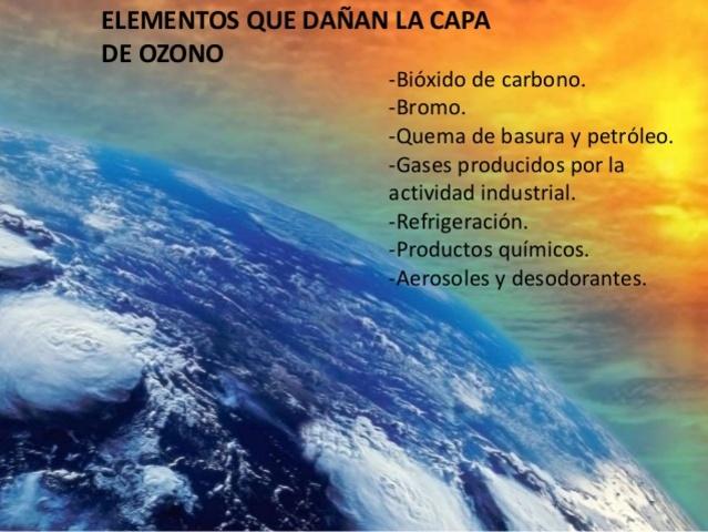 LOS CFC (CLORURO,FLORURO,CARBONO) QUE DAÑAN LA CAPA DE OZONO