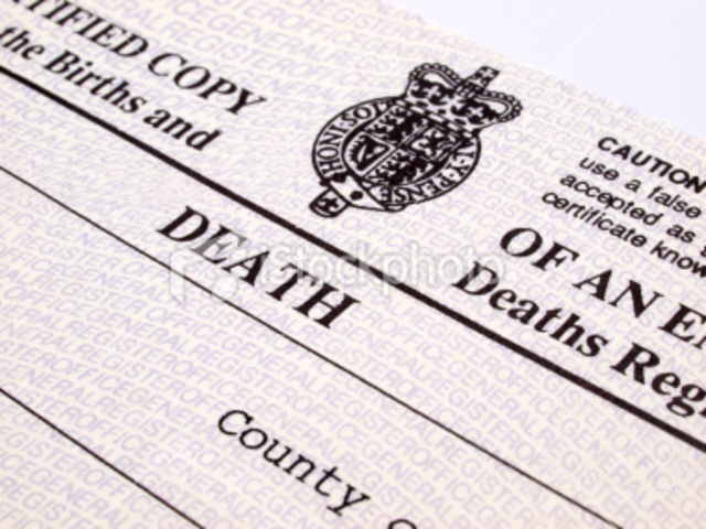 Begining of Civil Registration in England