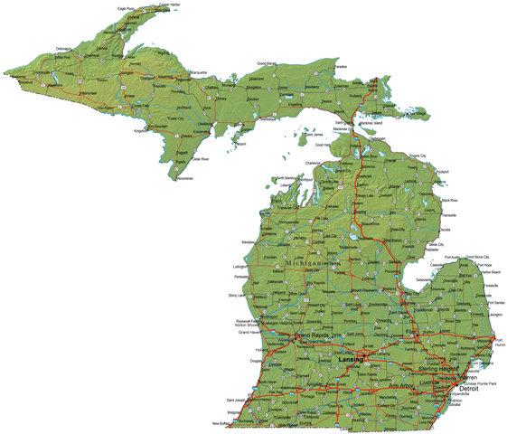 fui Michigan.