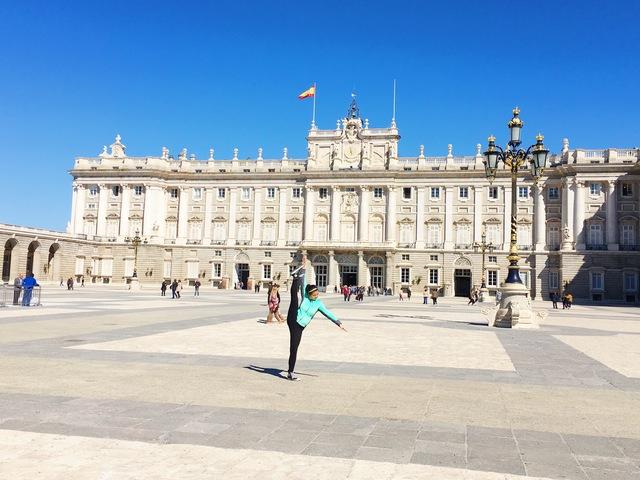 Fui a España