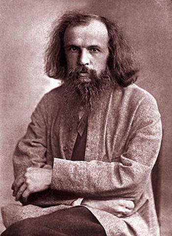 Dmitri Mendeléyev