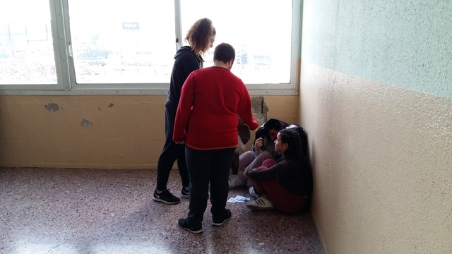 Συνάντηση των μαθητών και των καθηγητών