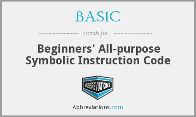 Lenguaje BASIC