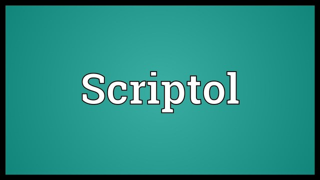 Scriptol.