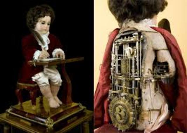 Automatas con forma humana