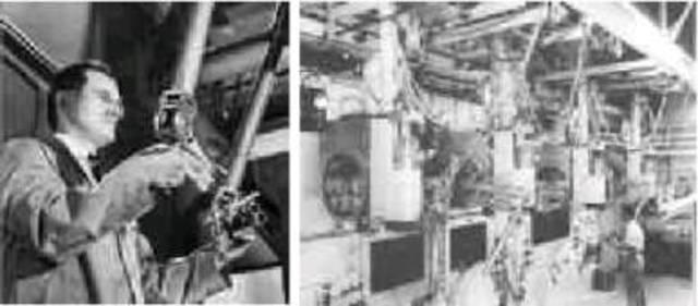 Primeros teleoperadores mecanicos