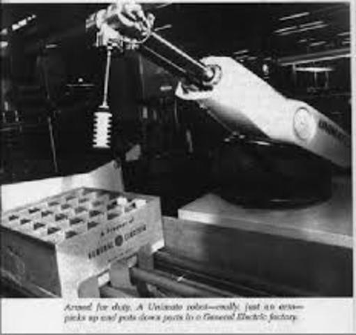 Primera patente de robot en USA