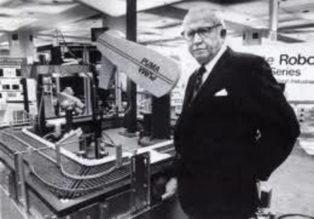 Comercializacion del primer robot industrial