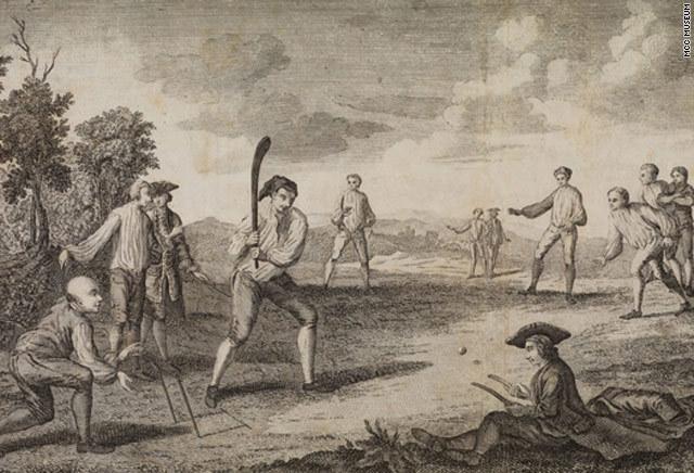 Cricket was invented