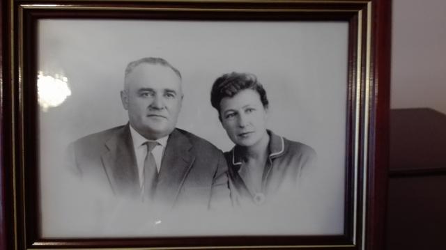 С.П. Королев фото с Супругой