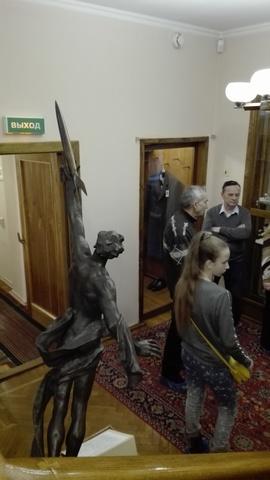 посетители музея - студенты