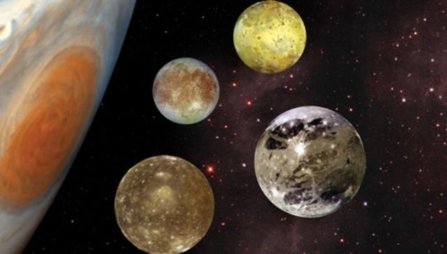 Galileo Galilei: lunas de Júpiter