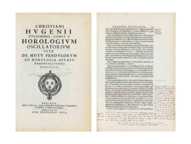 Christiaan Huygens: Horologium oscillatorum