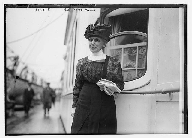 Ella Flagg Young, CPS Superintendent