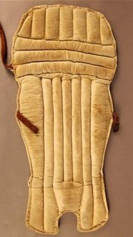 Batting pads invented