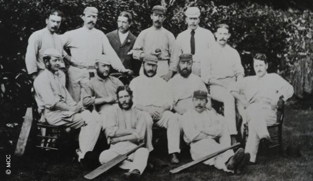 First Test Match played