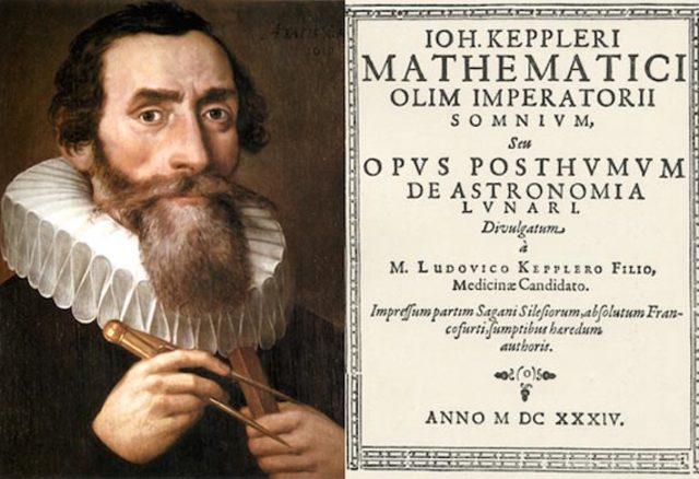 Kepler escribio su libro titulado   Mysterium Cosmographicum