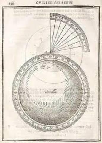 Gilbert publica su obra De mundo nostro sublunari philosophia nova.