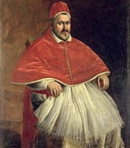 Pablo V es elegido Papa.